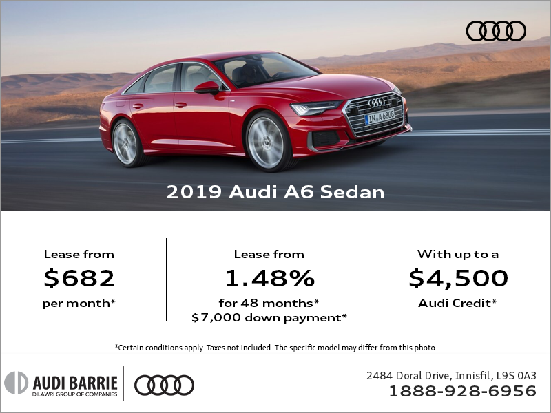 Drive the 2019 A6 today!