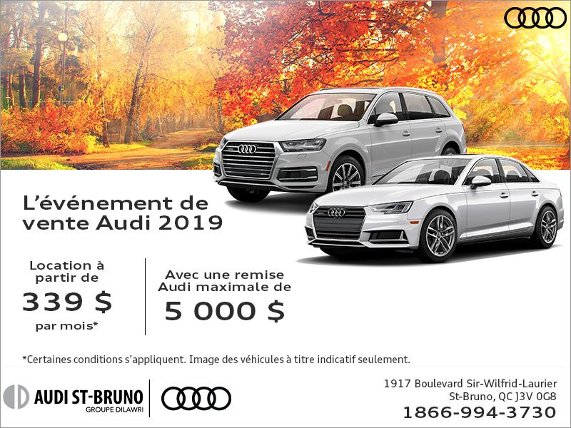 L'événement de l'automne Audi.