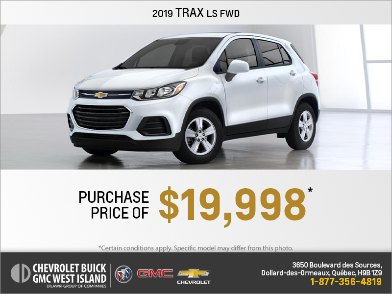 Get the 2019 Chevrolet Trax
