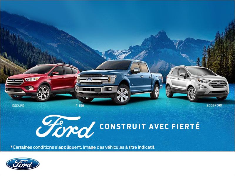 Ford Construit avec fierté