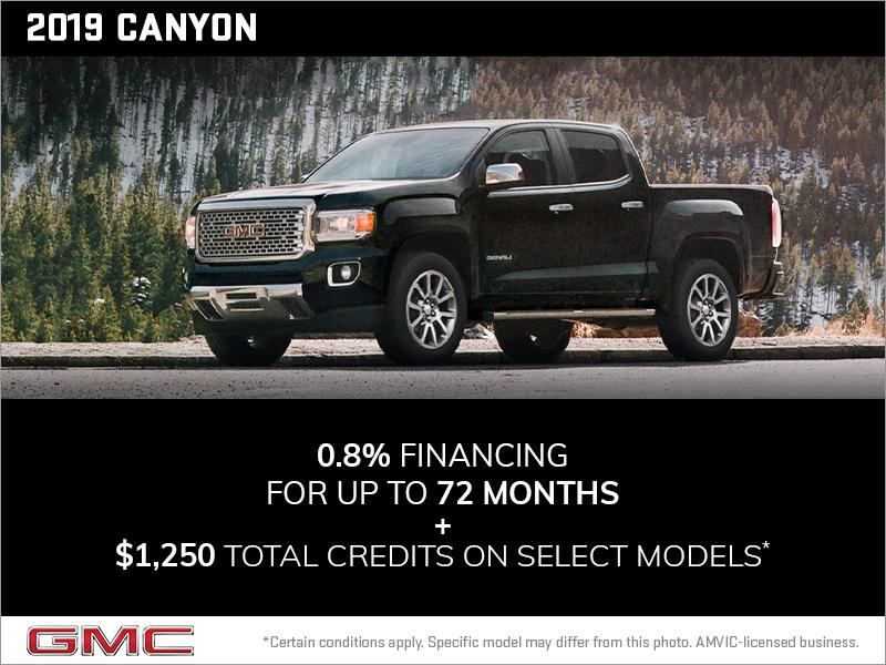 Boyer Chevrolet Buick Gmc Bancroft Ltd The 2019 Gmc Canyon