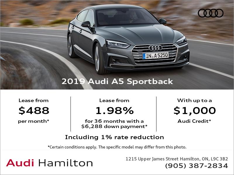 Audi Hamilton Drive The 2019 A5 Sportback Today