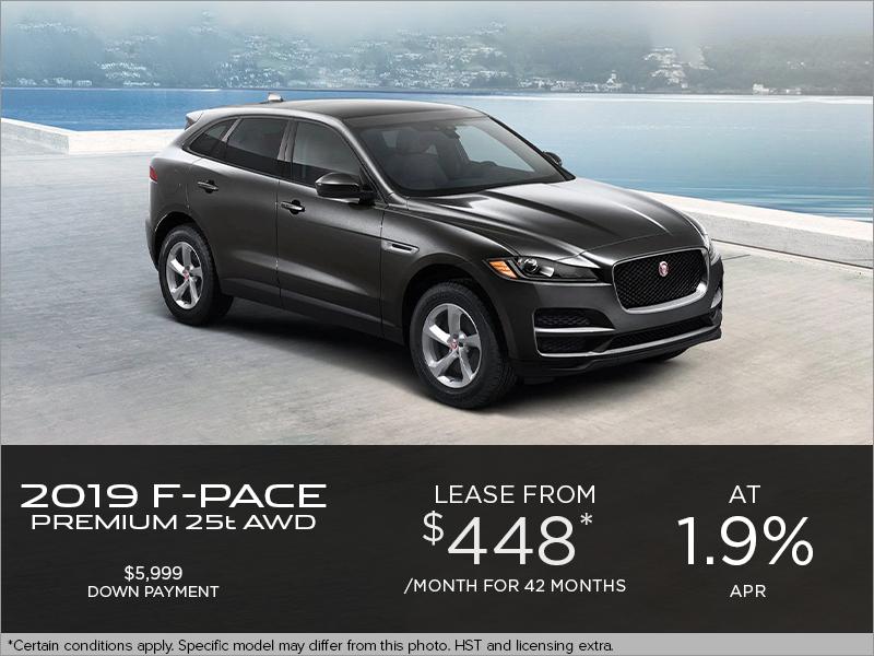 The 2019 Jaguar F-PACE Premium 25t AWD