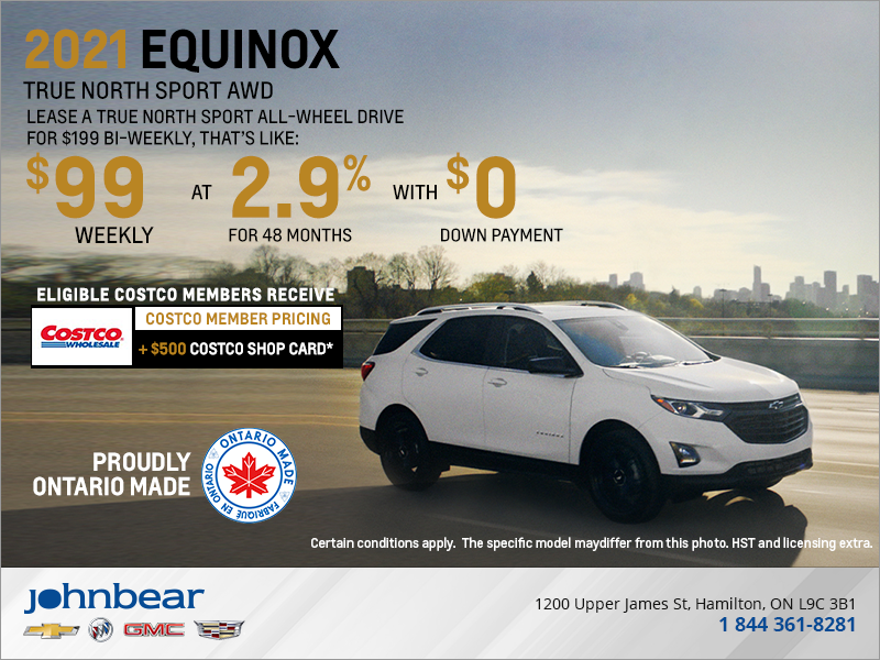 John Bear Hamilton Get The 2021 Chevrolet Equinox