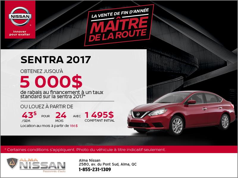 La nouvelle Nissan Sentra 2017