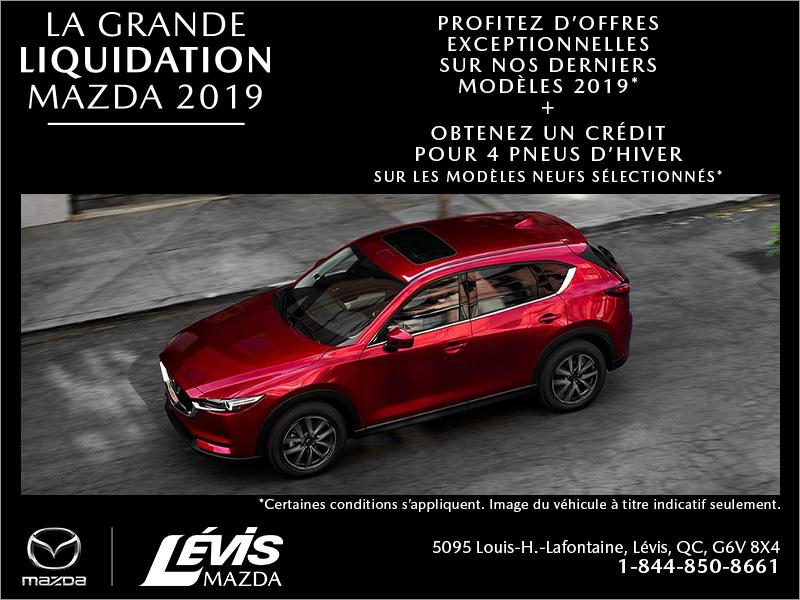 La grande liquidation Mazda 2019
