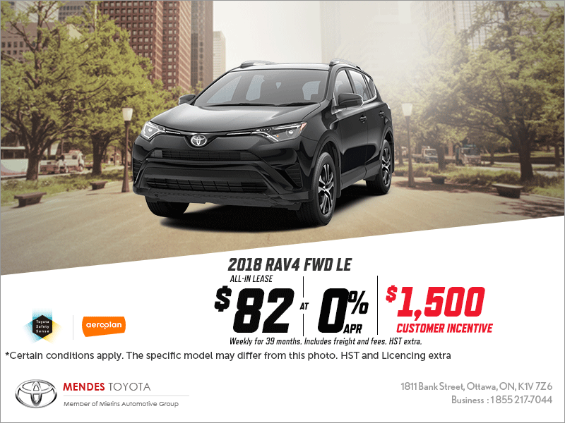 Awd Limited Toyota Rav4 2016 For Sale In Ottawa Mierins