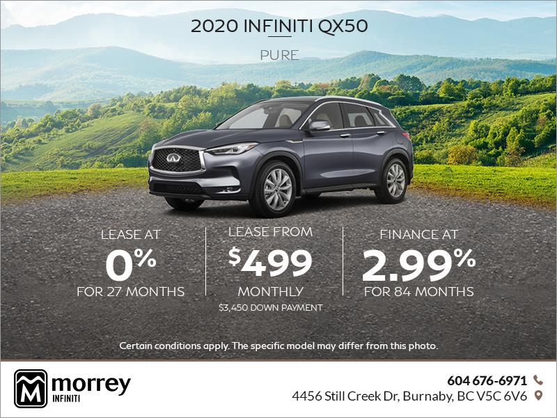 Morrey Infiniti Of Burnaby 2020 Qx50