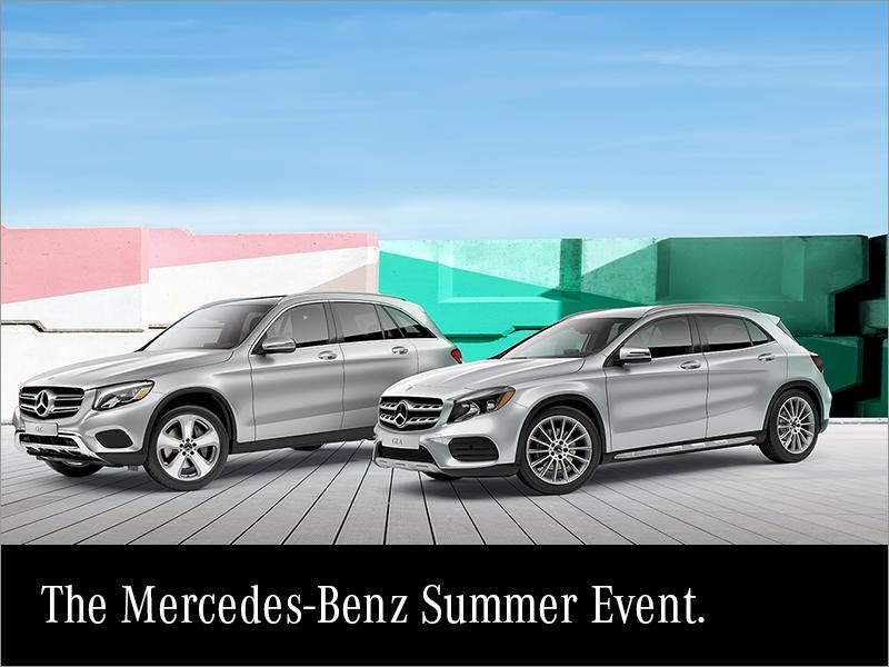 The Mercedes-Benz Summer Event.