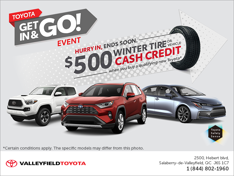 Toyota Get In & Go Event!