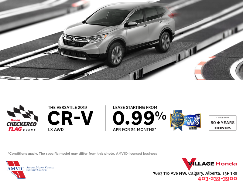 Lease the 2019 CR-V Today !