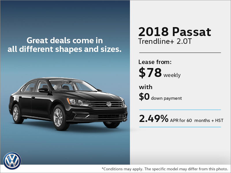 Get the 2018 Passat Today!