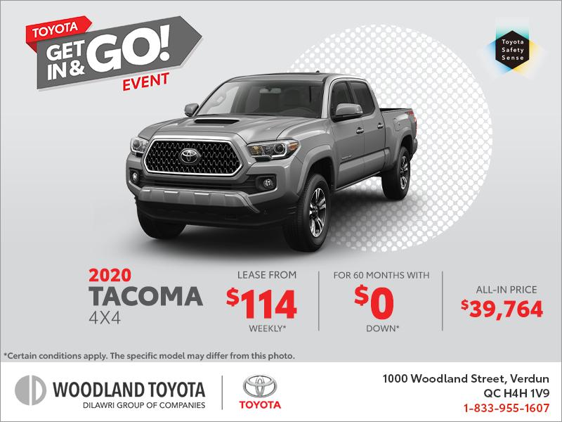 Tacoma Events 2020.Woodland Toyota In Verdun 2020 Toyota Tacoma