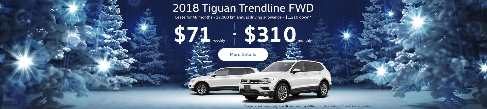 Tiguan December Offer