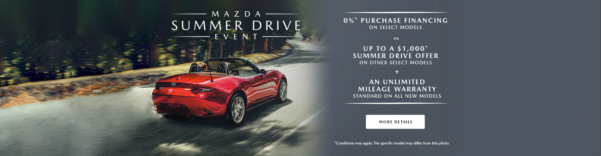Summer Drive Event