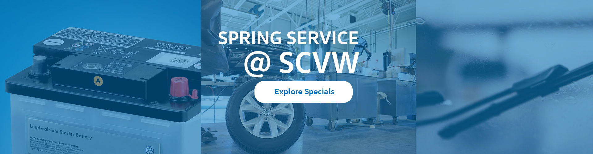 Spring Service Specials - South