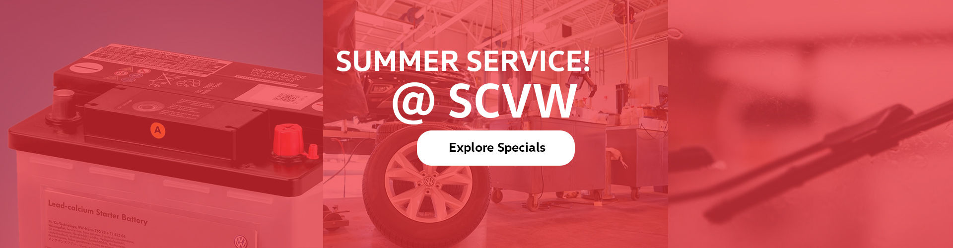 Summer Service Specials - South