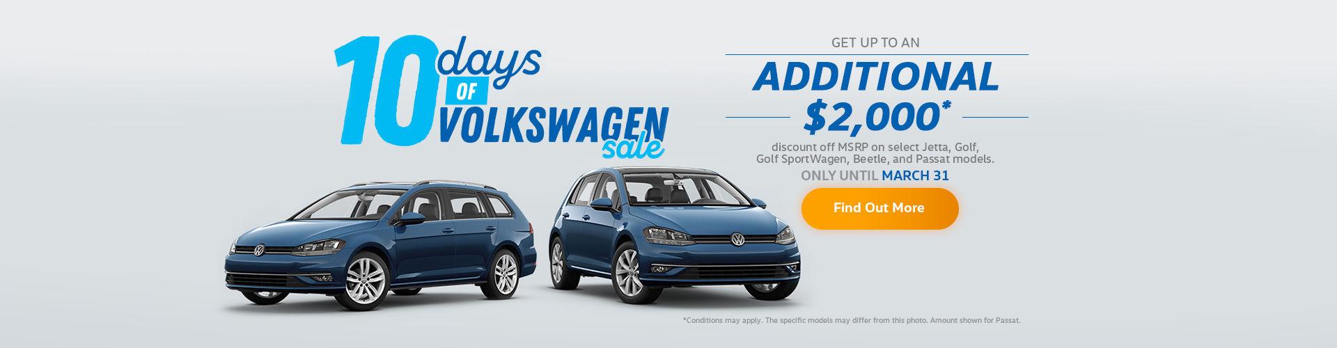 10 Days of Volkswagen