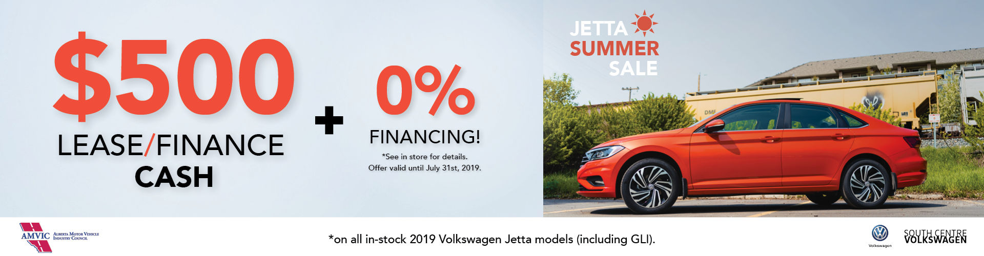 Jetta Summer Sale | South Centre