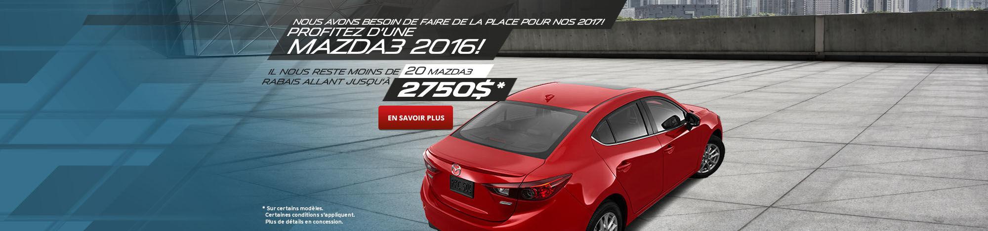 Voyez la Mazda3 2016