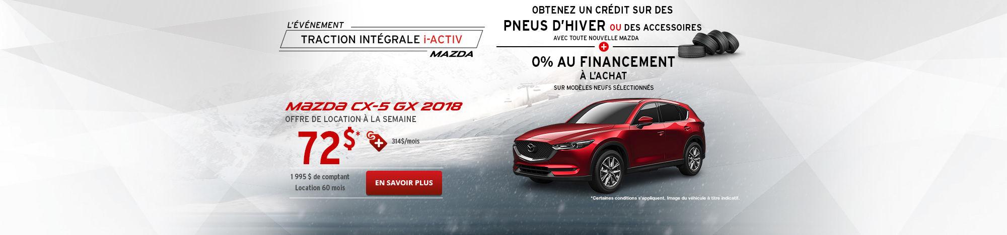 Le nouveau Mazda CX-5 2018!
