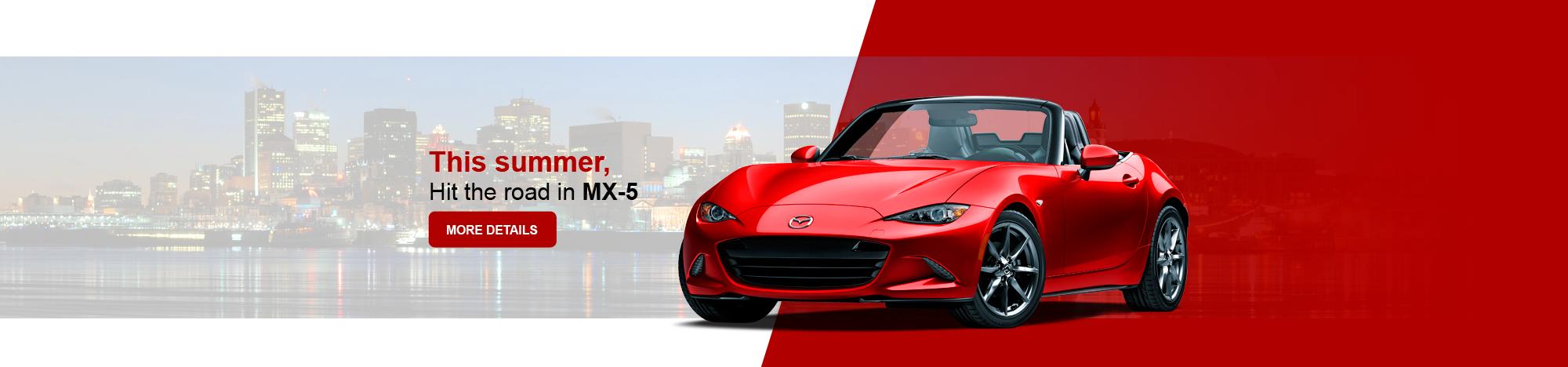 The new Mazda MX-5 2017 !