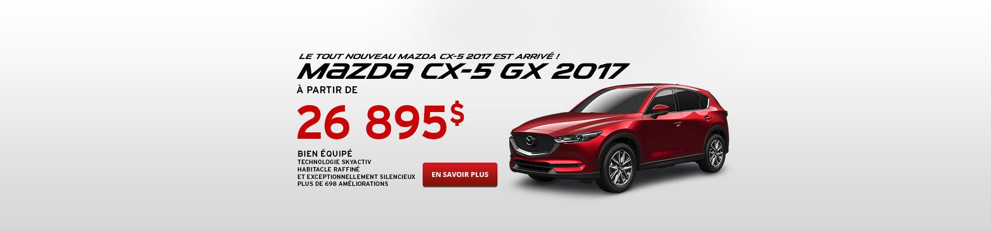 Promo Mazda CX-5 Fr