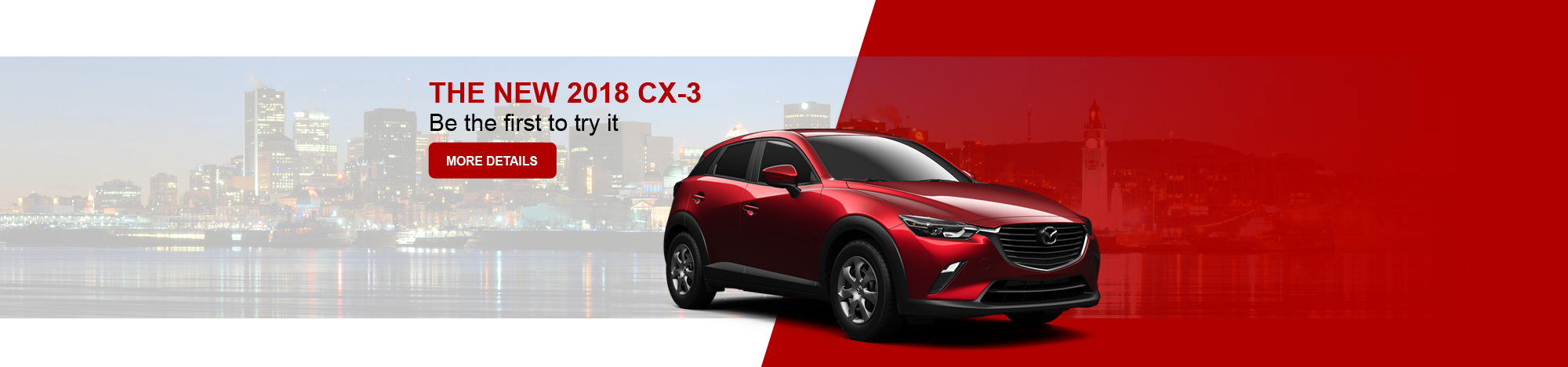 The new 2018 CX-3