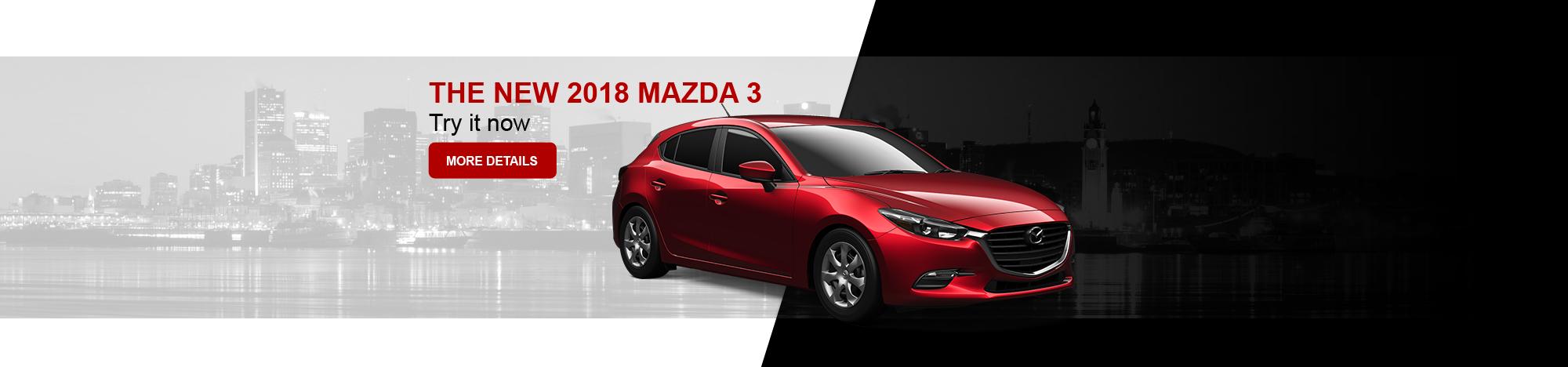 The new Mazda 3 2018