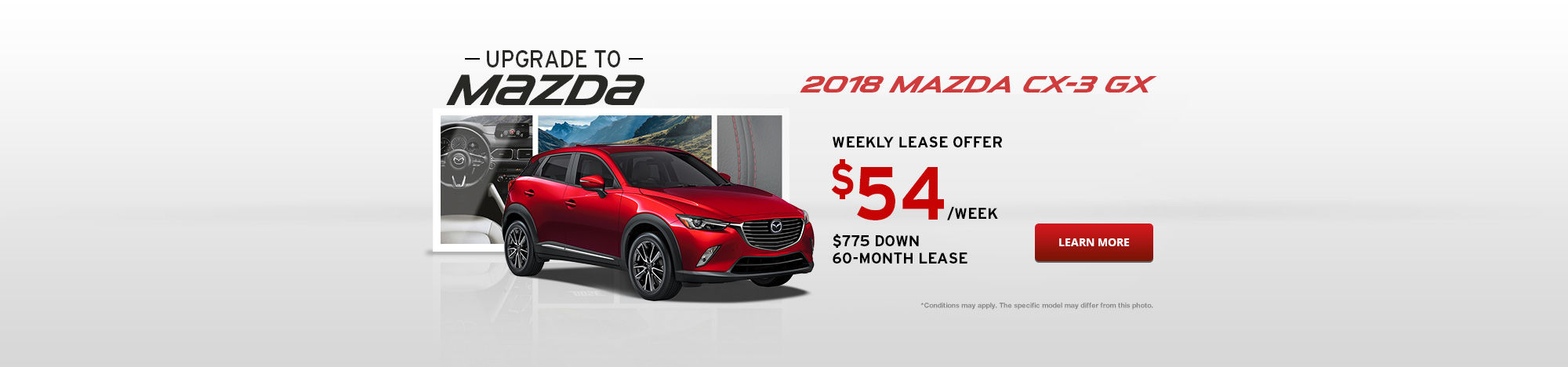 Upgrade To Mazda September - CX-3
