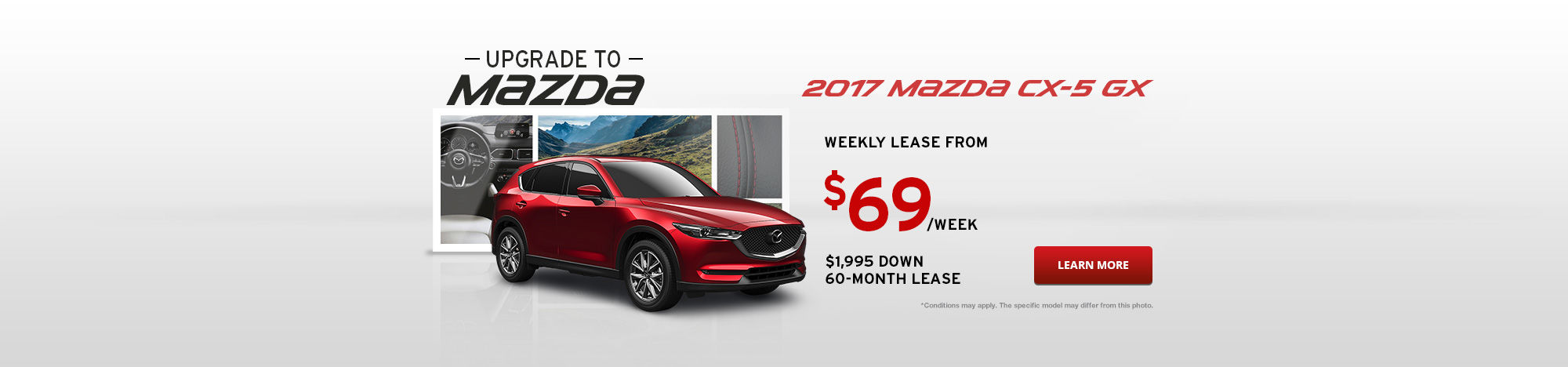 Upgrade To Mazda September - CX-5