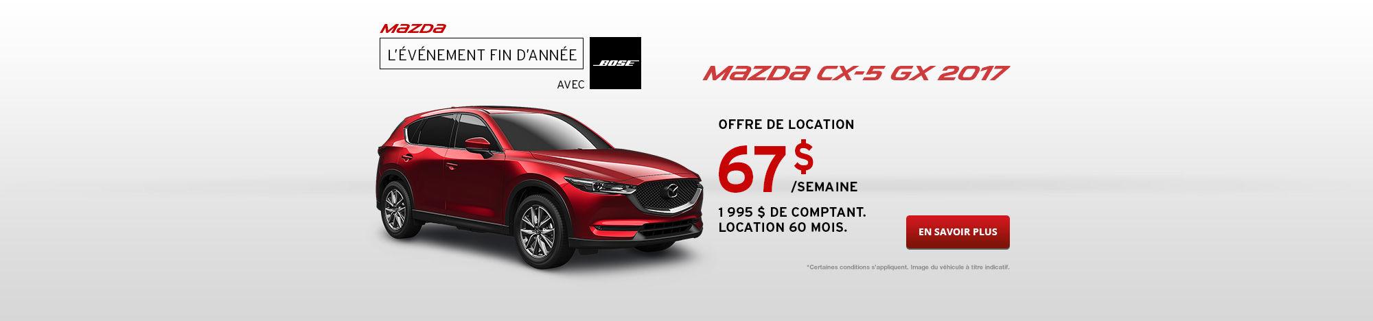 Passez à Mazda CX-5