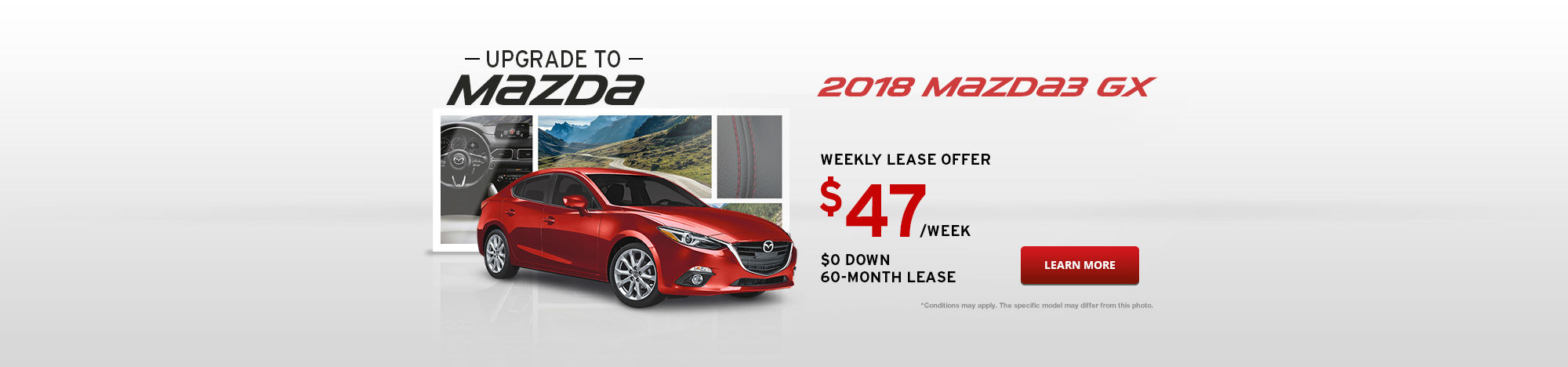Upgrade To Mazda September - Mazda3