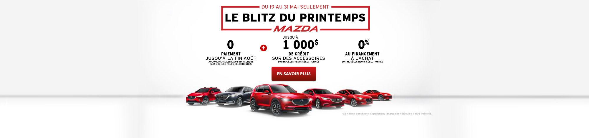 L'événement Passez en mode printemps Mazda - Mai -