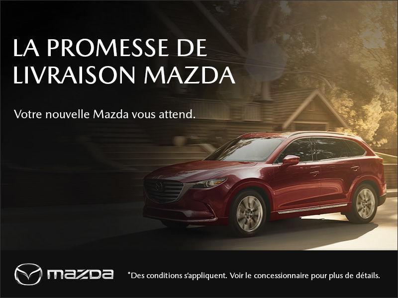 Promesse de livraison Mazda