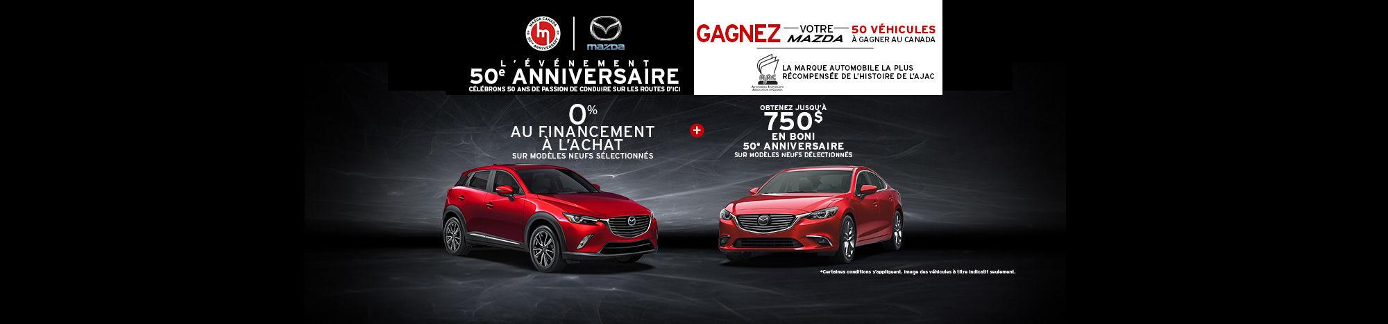 Événement mensuel Mazda