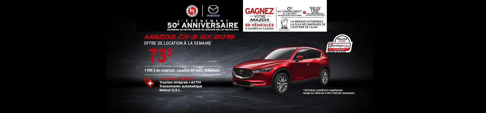 Mazda CX5 2018 (
