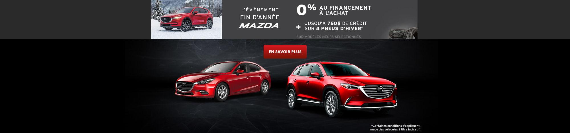 L'événement Mazda! - black friday - papineau