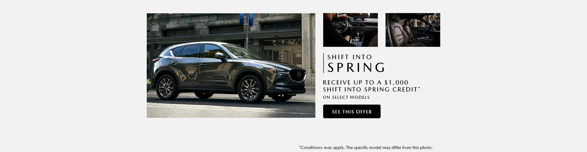 Shift into Spring - Headers event