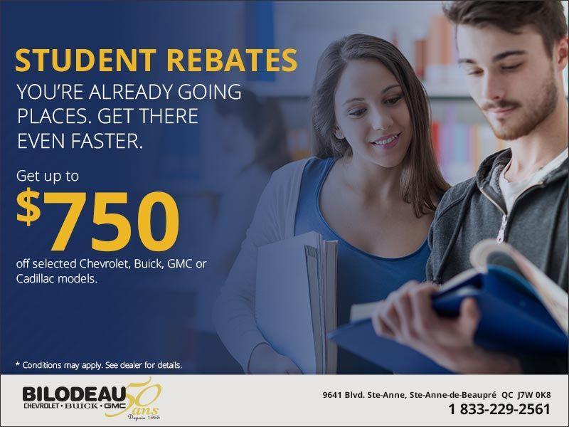 Student Rebates