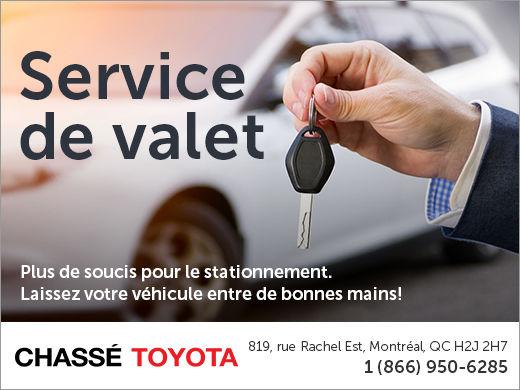 Service de valet
