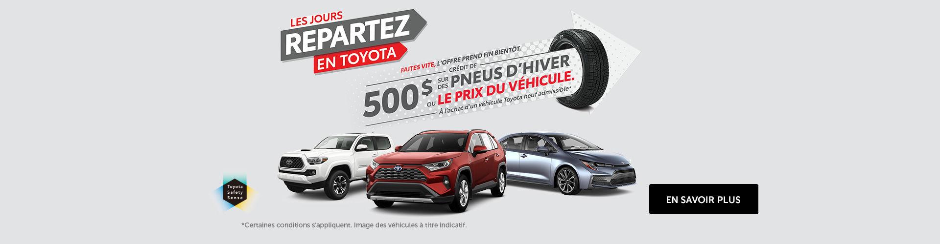 L'événement Toyota