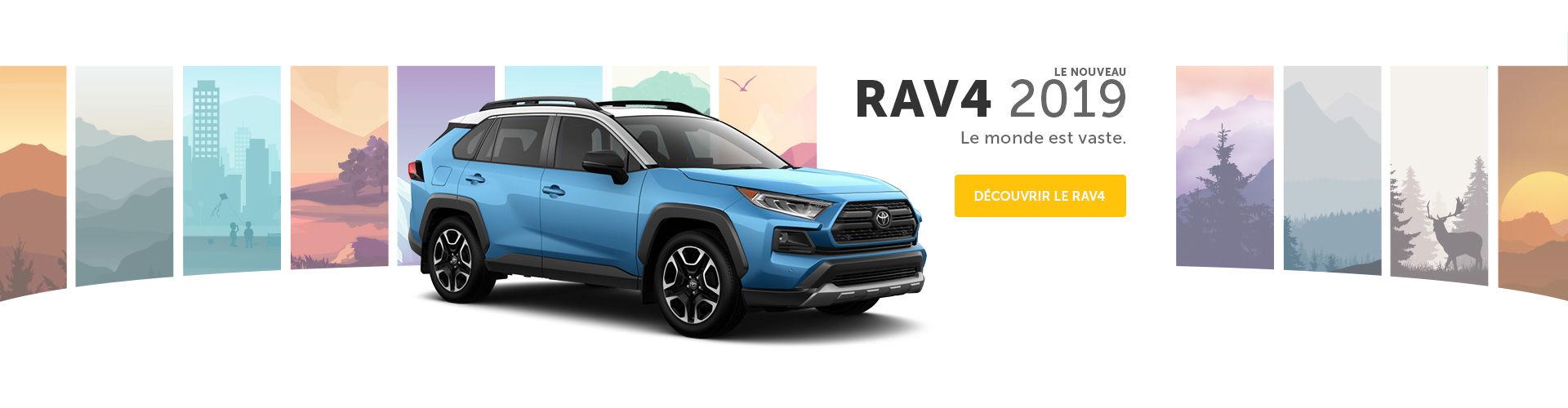 Le nouveau Rav4 2019