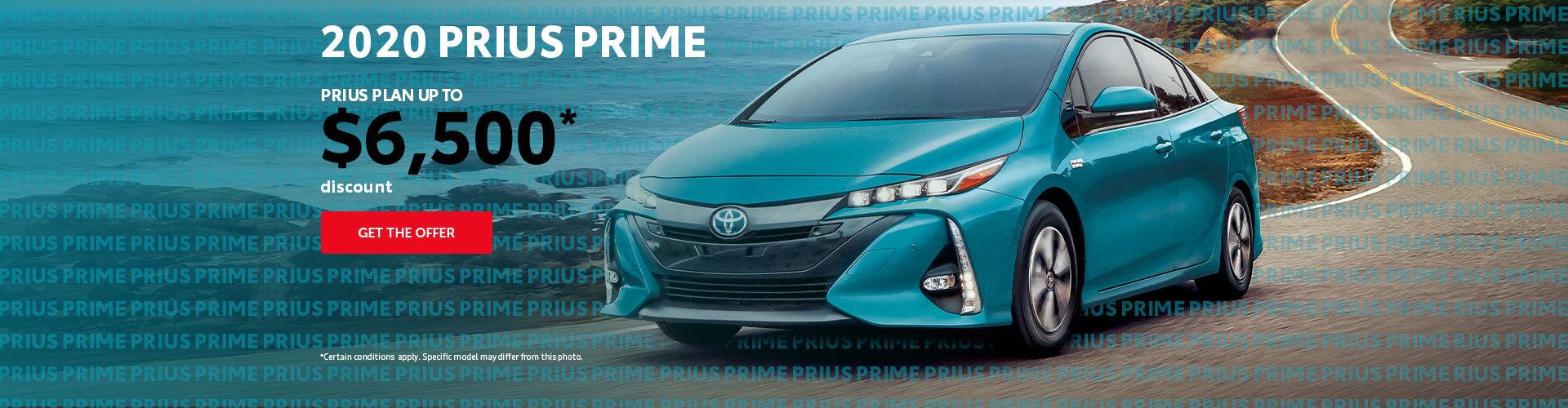 2019 Prius Prime Discount