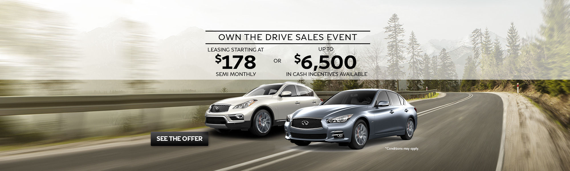 Own The Drive Sales Event