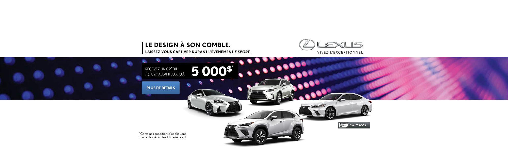 Lévénement F Sport de Lexus
