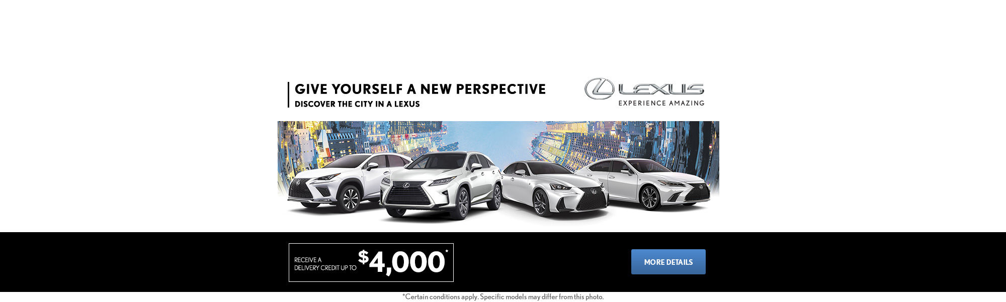 The Lexus Monthly Event