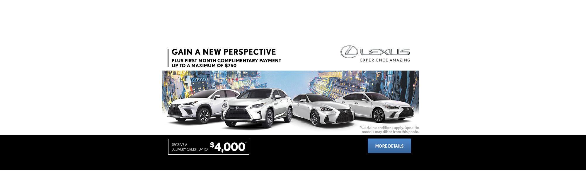 The Lexus Monthly Event