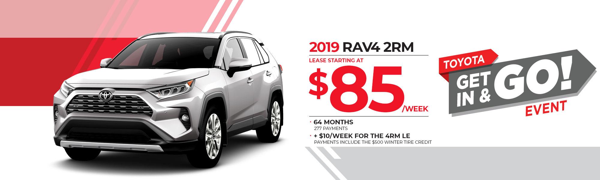 2019 RAV4 2RM