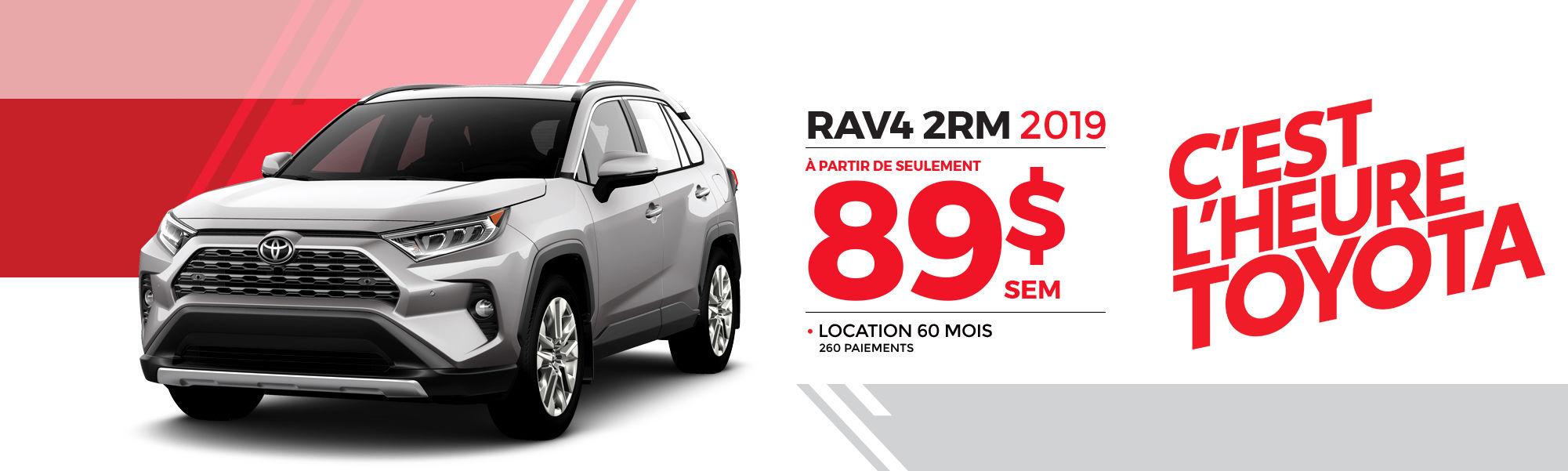 RAV4 2RM 2019